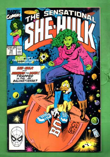 The Sensational She-Hulk Vol.2 #14 Apr 90