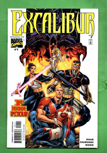 Excalibur Vol.1 #1 Feb 01