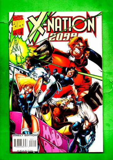 X-Nation 2099 Vol.1 #2 Apr 96