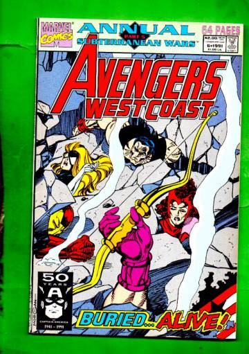West Coast Avengers Annual Vol. 2 #6 91