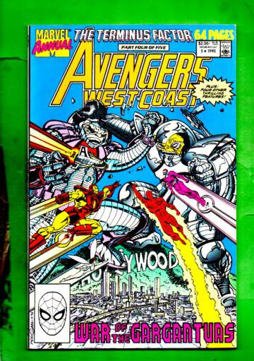 West Coast Avengers Annual Vol.2 #5 90