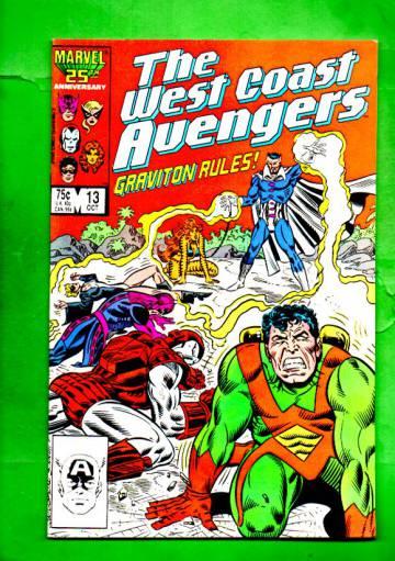 West Coast Avengers Vol.2 #13 Oct 86