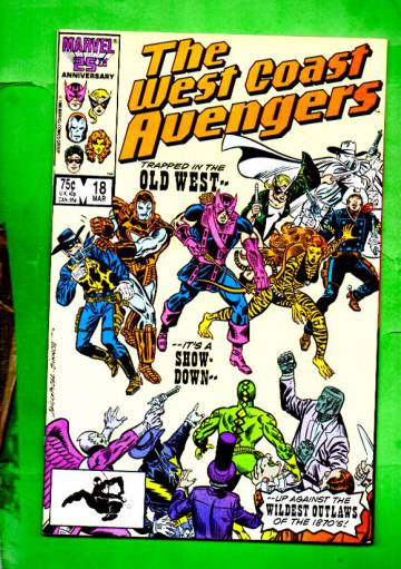 West Coast Avengers Vol.2 #18 Mar 87