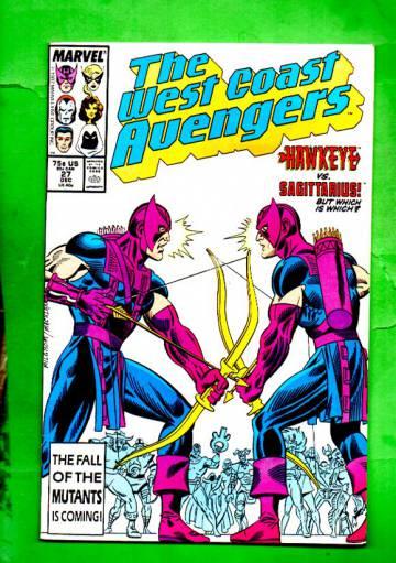 West Coast Avengers Vol.2 #27 Dec 87