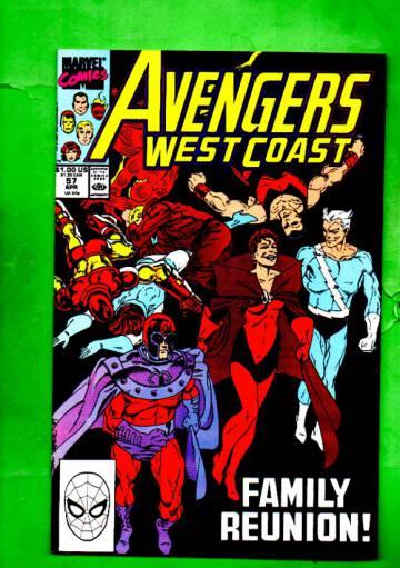 West Coast Avengers Vol.2 #57 Apr 90