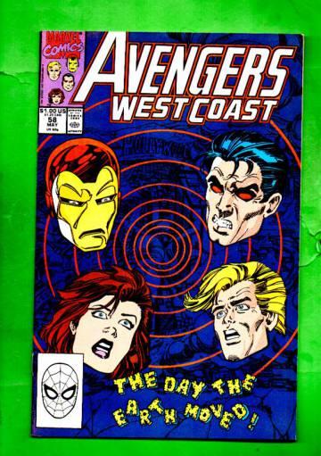 West Coast Avengers Vol.2 #58 Apr 90