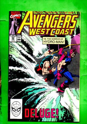 West Coast Avengers Vol.2 #59 Jun 90