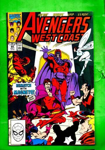 West Coast Avengers Vol.2 #60 Jul 90