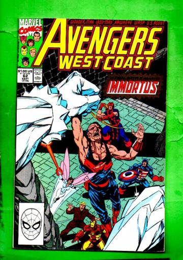 West Coast Avengers Vol.2 #62 Sep 90
