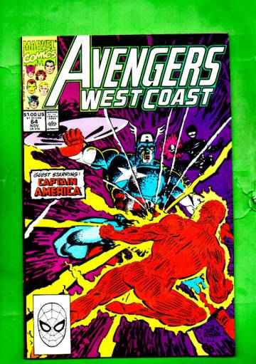 West Coast Avengers Vol.2 #64 Nov 90