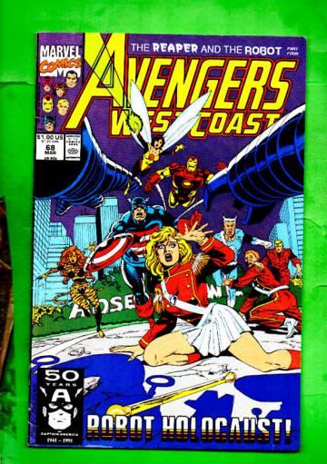 West Coast Avengers Vol.2 #68 Mar 91