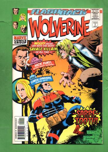 Wolverine Vol. 1 #-1 Jul 97