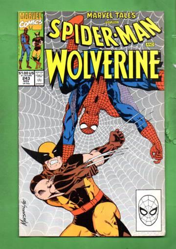 Marvel Tales Featuring Spider-Man Vol. 1 #243 Nov 90