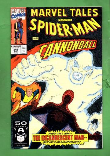 Marvel Tales Featuring Spider-Man Vol. 1 #246 Feb 91