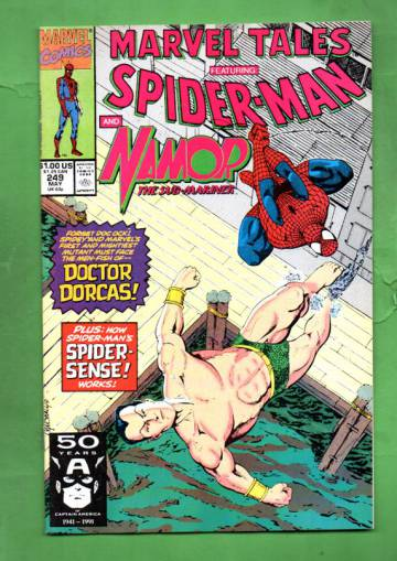 Marvel Tales Featuring Spider-Man Vol. 1 #249 May 91