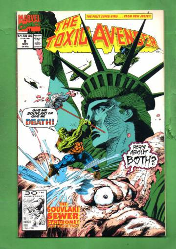 Toxic Avenger Vol. 1 #8 Nov 91