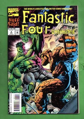 Fantastic Four Unlimited Vol. 1 #4 Dec 93