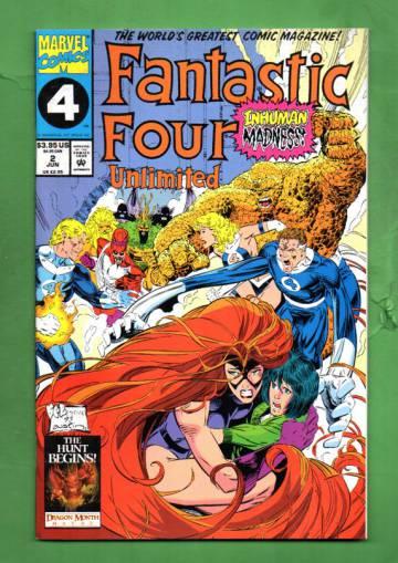 Fantastic Four Unlimited Vol. 1 #2 Jun 93