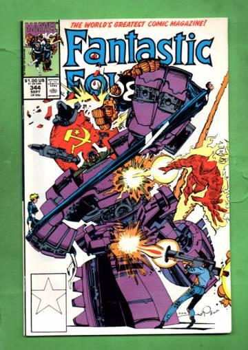 Fantastic Four Vol. 1 #344 Sep 90