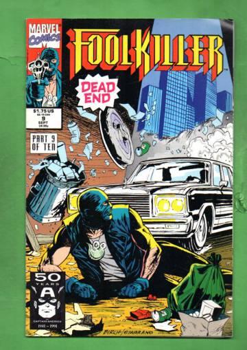 Foolkiller Vol. 1 #9 Sep 91