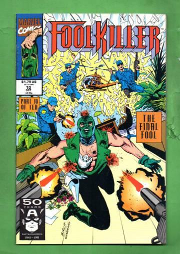Foolkiller Vol. 1 #10 Oct 91