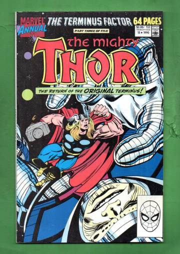 The Mighty Thor Annual Vol. 1 #15 90