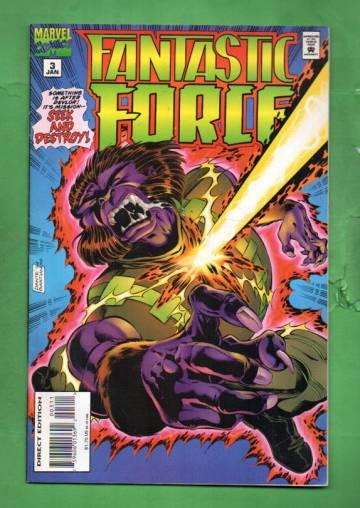 Fantastic Force Vol. 1 #3 Jan 95