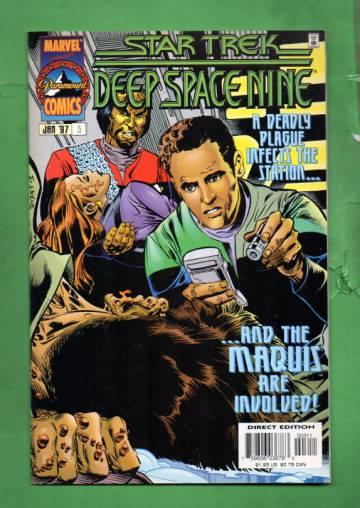 Star Trek: Deep Space Nine Vol. 1 #3 Jan 97