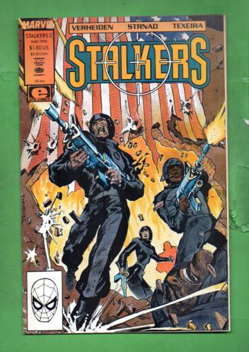 Stalkers Vol. 1 #2 May 90