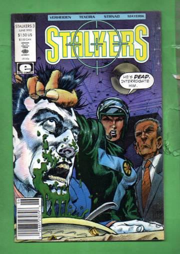 Stalkers Vol. 1 #3 Jun 90