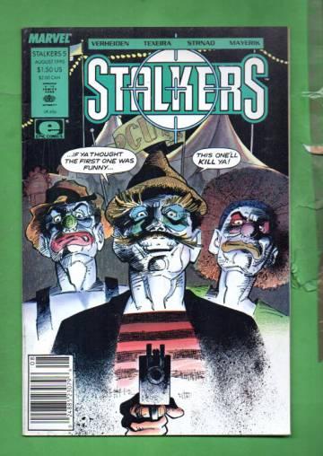Stalkers Vol. 1 #5 Aug 90