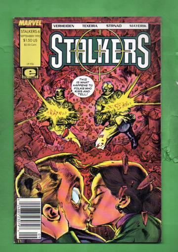 Stalkers Vol. 1 #6 Sep 90