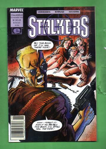 Stalkers Vol. 1 #8 Nov 90