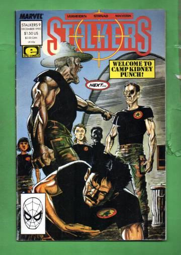 Stalkers Vol. 1 #9 Dec 90