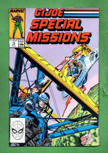 G.I. Joe Special Missions Vol. 1 #12 Aug 88