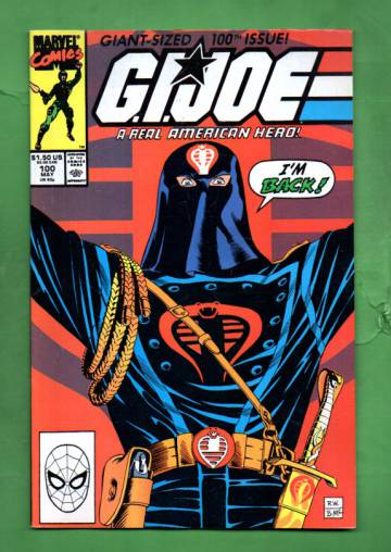G.I. Joe Real American Hero Vol 1 #100 May 90