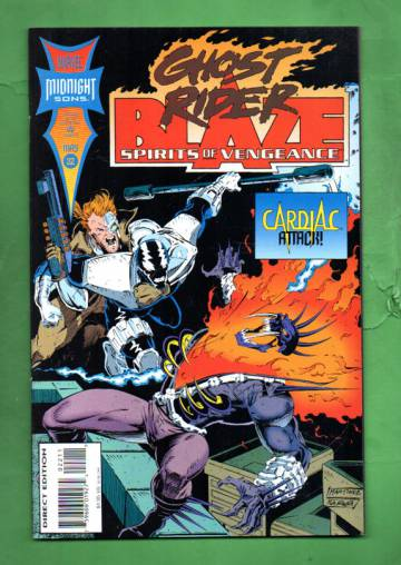 Ghost Rider /Blaze: Spirits of Vengeance Vol 1 #22 May 94