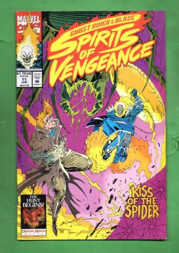 Ghost Rider /Blaze: Spirits of Vengeance Vol 1 #11 Jun 93