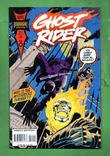 Ghost Rider Vol 2 #52  Aug 94