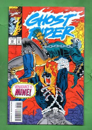 Ghost Rider Vol 2 #39  Jul 93