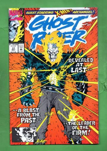 Ghost Rider Vol 2 #37  May 93