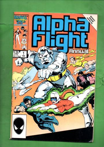 Alpha Flight Annual Vol. 1 #1 86