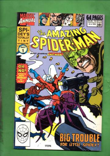 The Amazing Spider-Man Annual Vol 1 #24 90