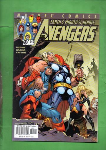 Avengers Vol 3 #45 Oct 01