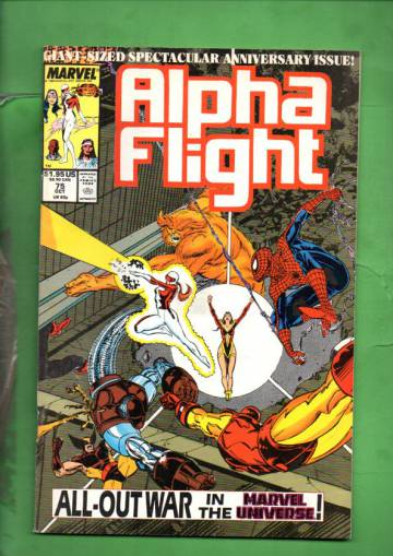 Alpha Flight Vol. 1 #75 Oct 89