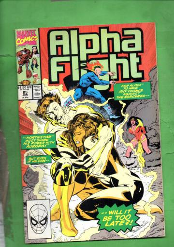 Alpha Flight Vol 1 #85 Jun 90