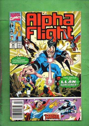 Alpha Flight Vol 1 #86 Jul 90