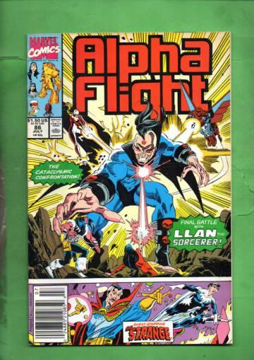 Alpha Flight Vol. 1 #86 Jul 90