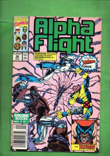 Alpha Flight Vol 1 #88 Sep 90
