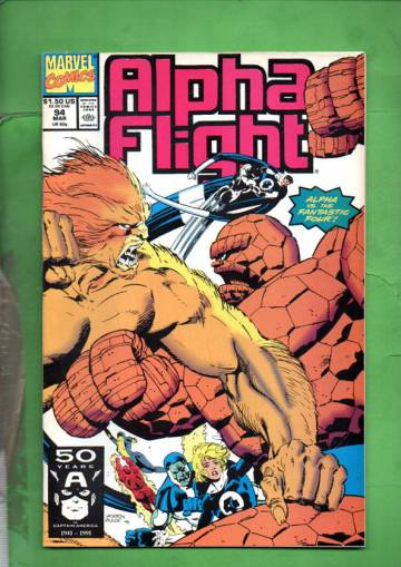 Alpha Flight Vol 1 #94 Mar 91